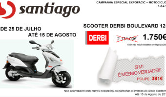 SCOOTER DERBI 125